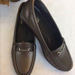 SAS Shoes - SAS Genuine Leather Metro Slip On Flats Shoes 7
